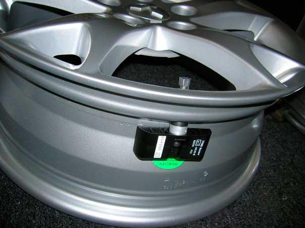 Установка датчиков внутрь диска