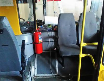 Дооснащение школьных автобусов